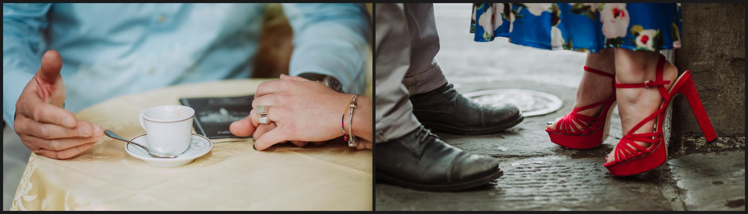 Engagement photo session, Details