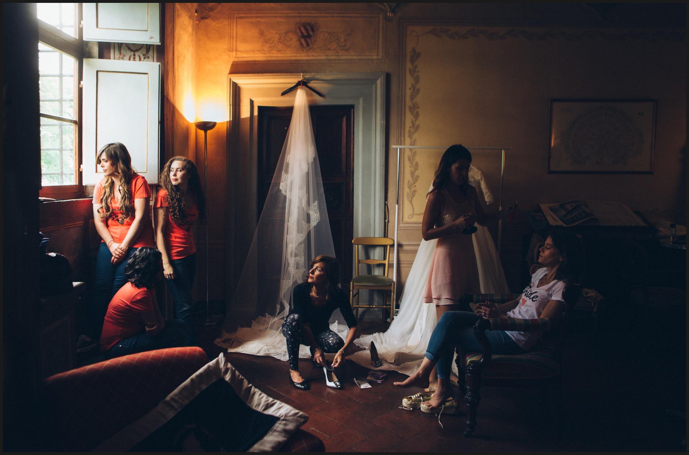 bride preparation