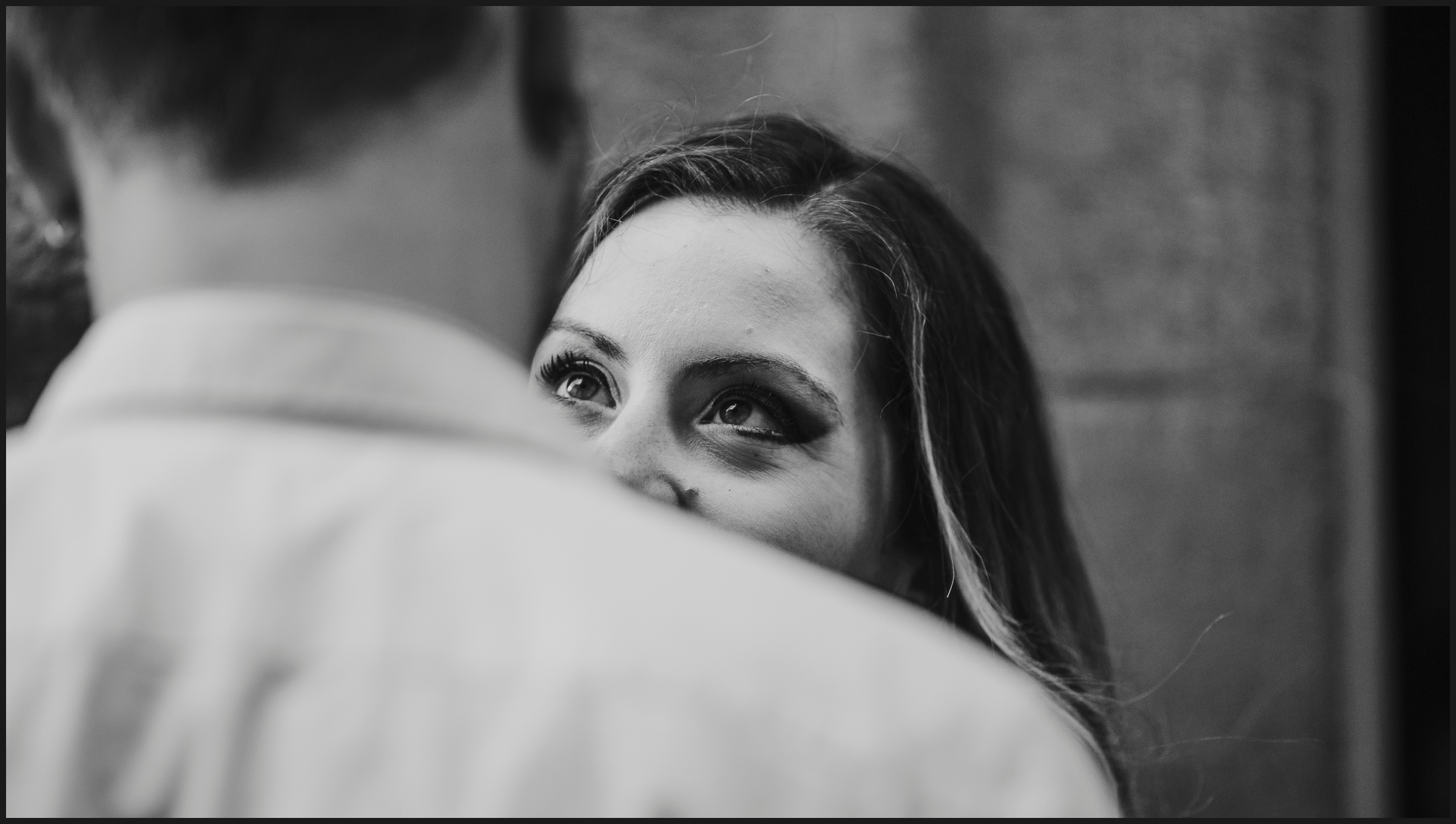 eyes, engagement session in Florence