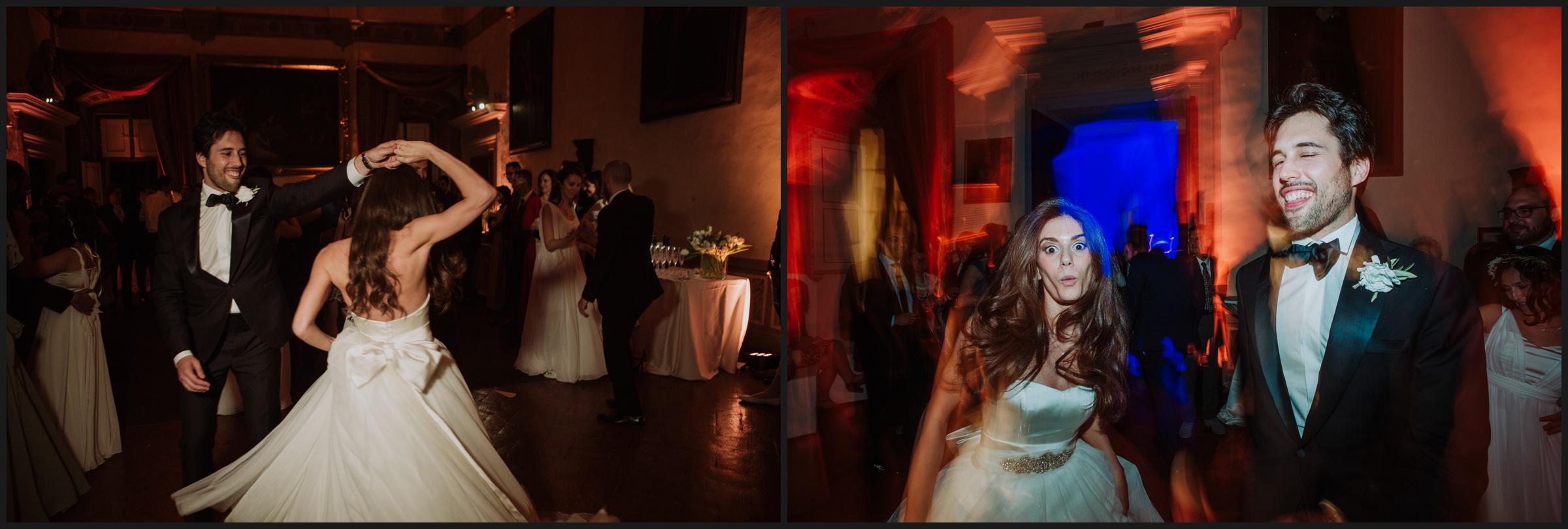 wedding party in Villa Corsini
