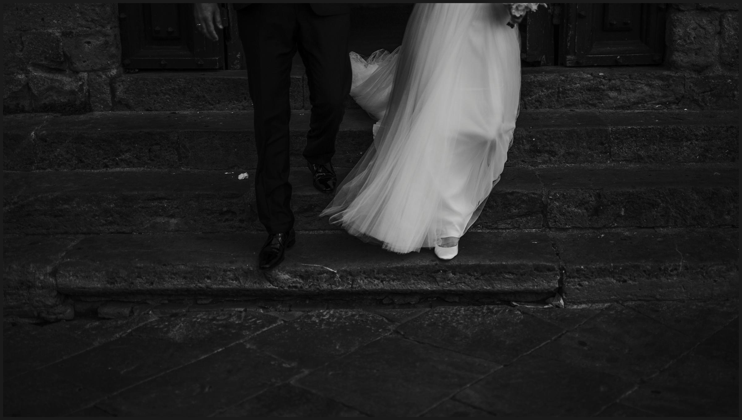 Norwegian bride and groom