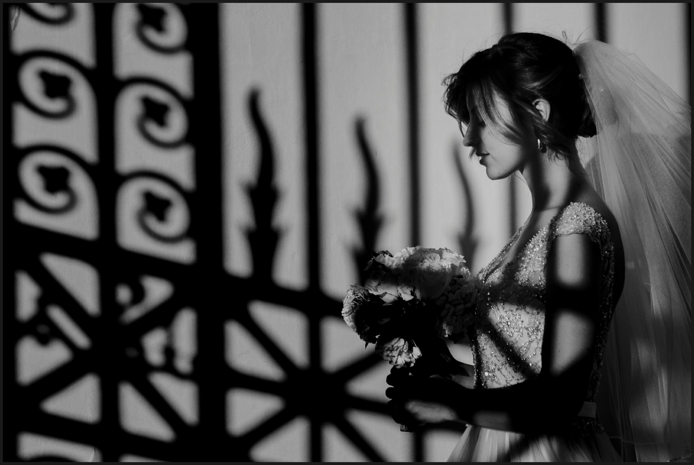 Bride portrait in Florence