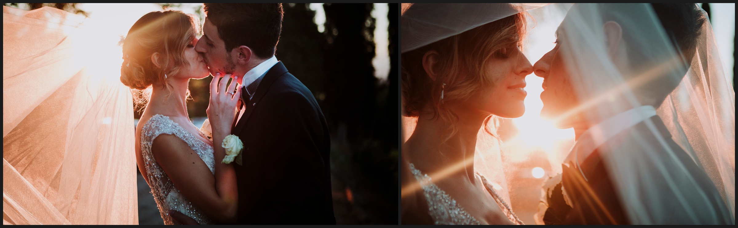 romantic moments for bride and groom