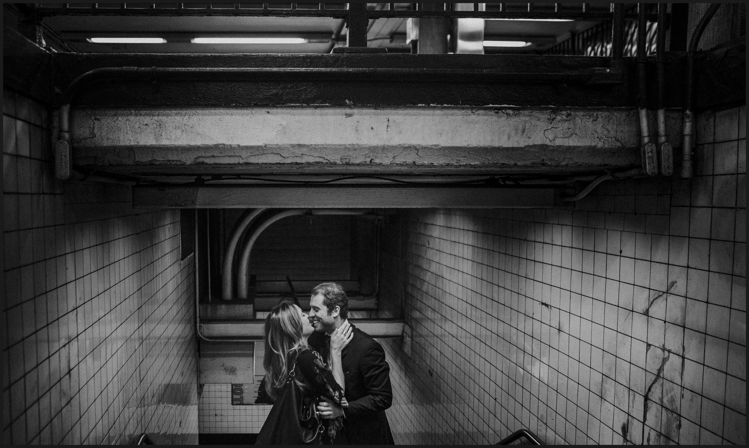 Engagement photos in New York
